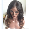 lace front human hair wigs 100% Indian human hair wigs 4