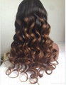 lace front human hair wigs 100% Indian human hair wigs 5