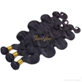 Loose wave human hair weft 100% remy