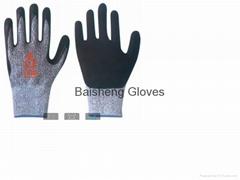 Cut Resistance glove Nitrile coating