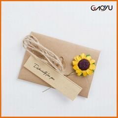 Kraft Paper Envelope With String