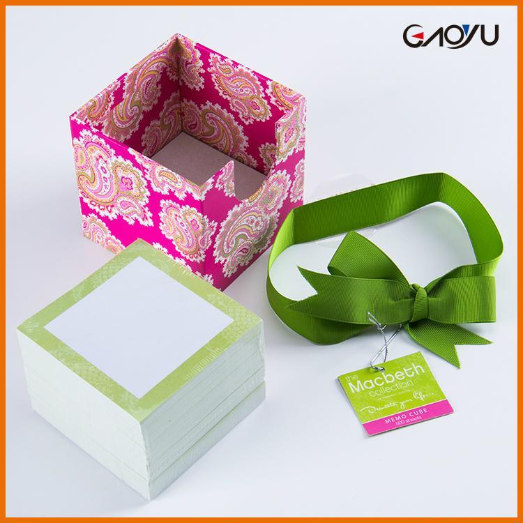Paper Cube Memo Pad 2