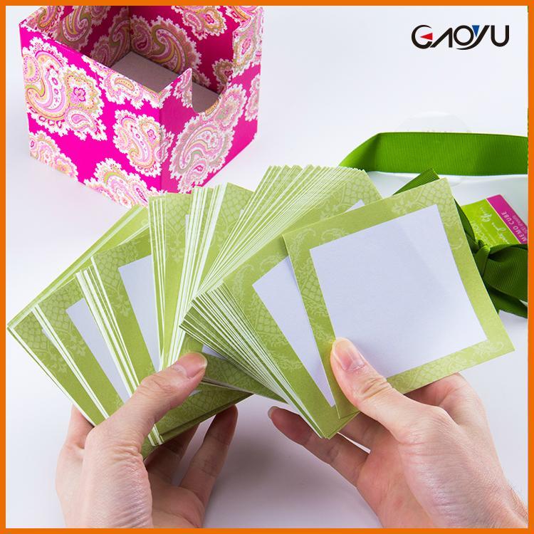 Paper Cube Memo Pad 3
