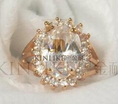 Elegant refined set auger zircon bracelet Simple fashion jewelry accessories