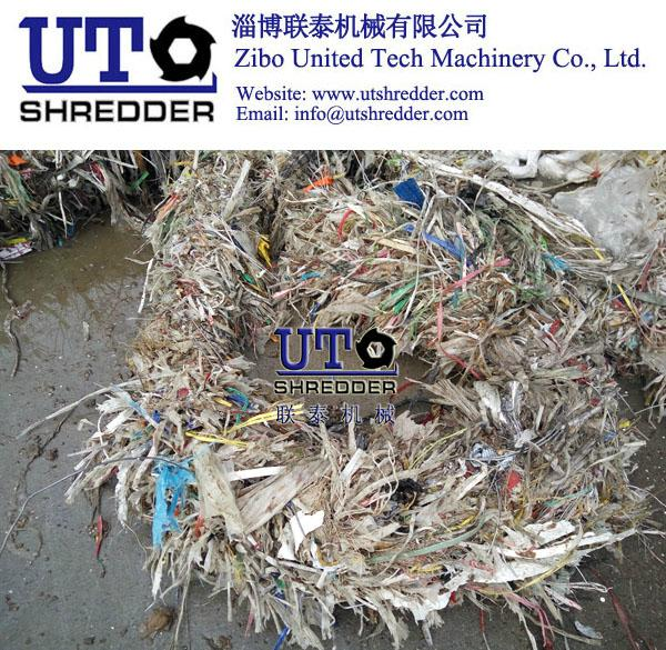 Ragger Wires Shredding from Pulp Paper Factory 2