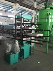rubber tile or floor press machine