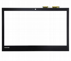 digitizer touch glass panel ORIGINAL for toshiba E45W-C TOUCH SCREEN WITH FRAME