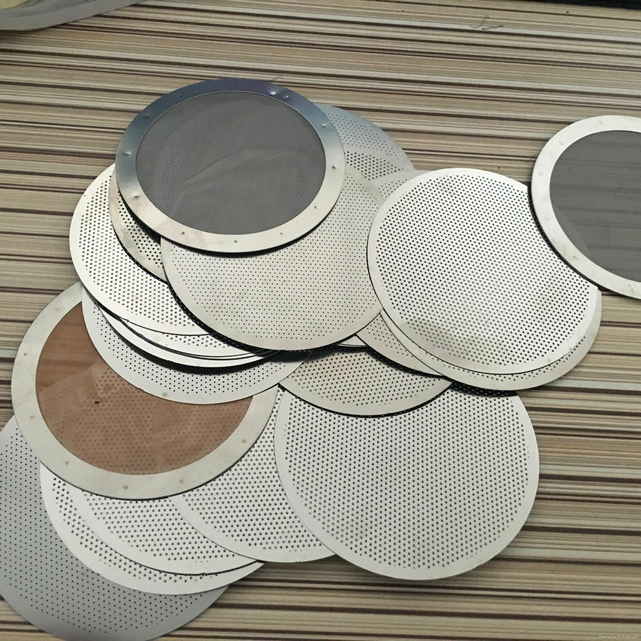 Reusable Ultra Fine Wire Mesh Weave Metal Coffee Filter