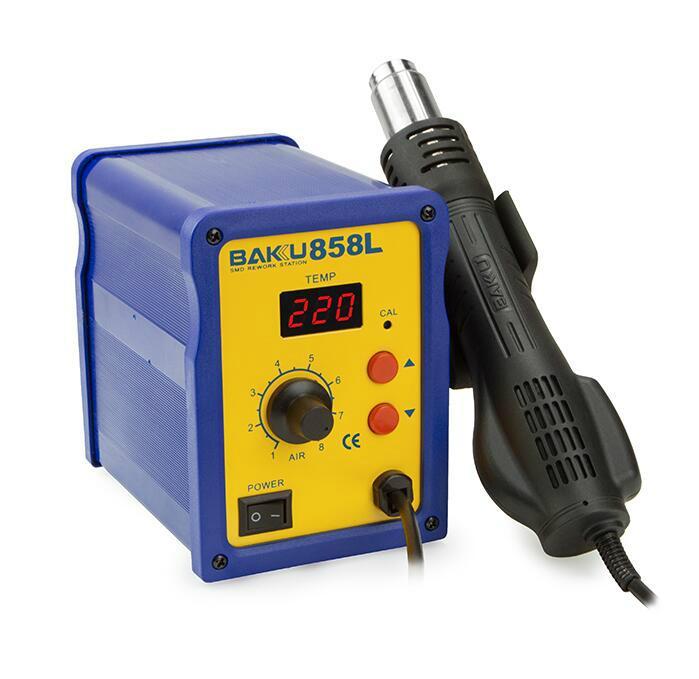 BAKU New Type 700W SMD Heat Gun Rework Station BK 858L 2