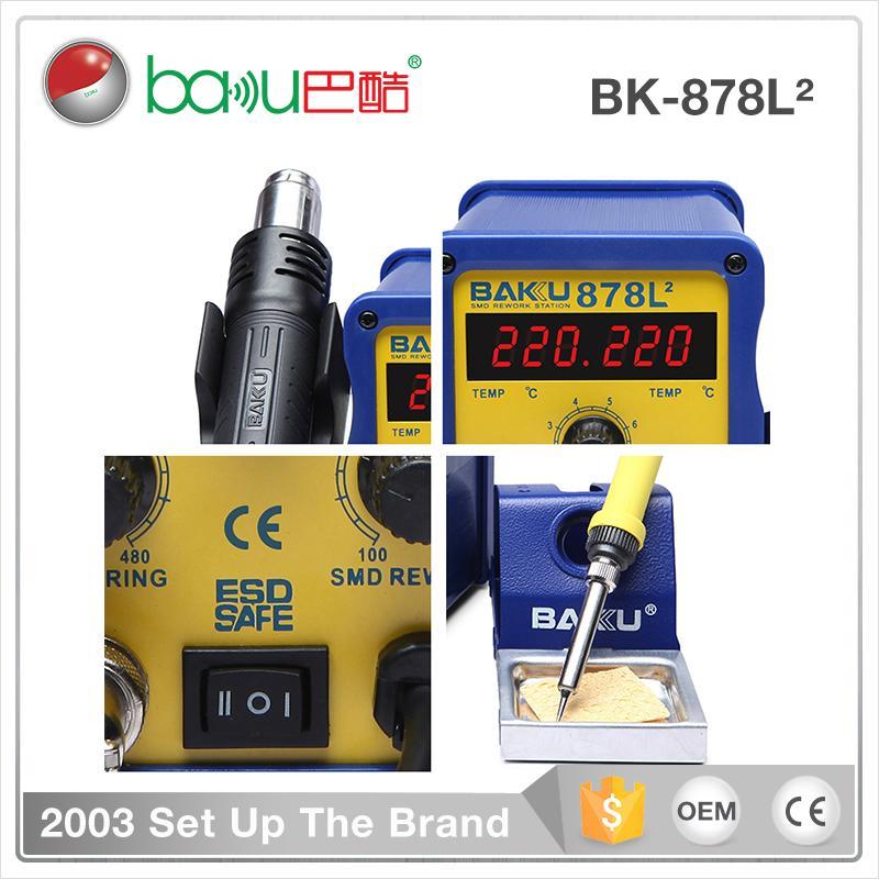 Baku Exceptional Quality Original Design Hot Air Gun Solar Cell Rework Station B 5