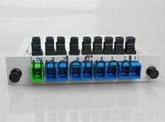 1分8分光器SC插片式光分路器