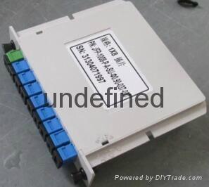SC/UPC 1分8插片式光分光器 4