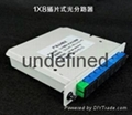 SC/UPC 1分8插片式光分光器 5