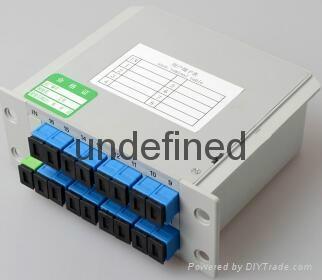 SC接口1分16插片式光分路器 3