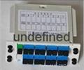SC接口1分16插片式光分路器 5