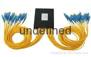 1分16分光器盒式 SC方头尾纤式光分路器 3
