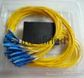 1分16分光器盒式 SC方头尾纤式光分路器 5