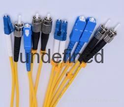 FC-SC单模光纤跳线 光纤尾纤 1