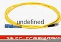 FC-SC单模光纤跳线 光纤尾纤 2