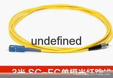 FC-SC单模光纤跳线 光纤尾纤 5