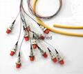 FC头12芯束状尾纤 单模12芯束状尾纤 4