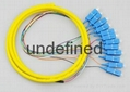 12芯束状尾纤SC/APC1.5米 单模束状尾纤 4