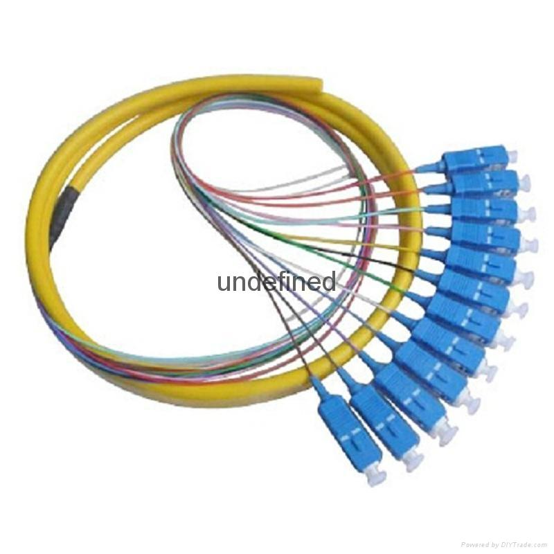 SC/UPC单模12芯束状尾纤 4