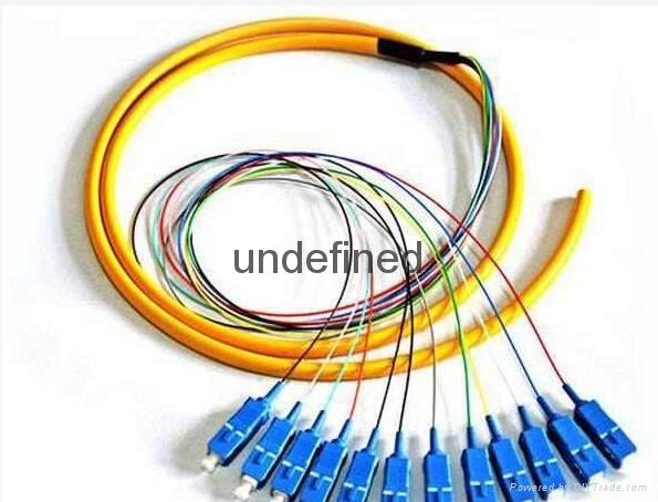 12芯束状尾纤SC方头FC圆头单模束状尾纤 3