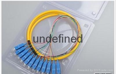 SC 8芯1.5米单模束状尾纤光缆跳线 1