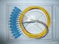 SC 8芯1.5米单模束状尾纤光缆跳线 4