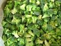 IQF Grade A green frozen broccoli spears cheap price 2