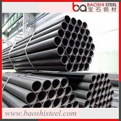 ERW Welded Mild Steel Black Round Pipe for Building Material