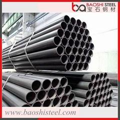 ERW Welded Mild Steel Black Round Pipe