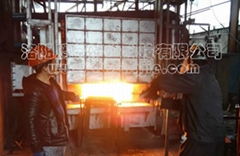 日產20噸蓄熱式燃氣推杆式貫通爐