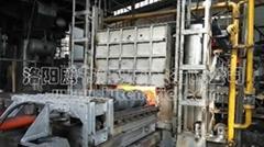 日產15噸蓄熱式燃氣推杆式貫通爐