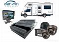 720P 3G 4G GPS Mobile Vehicle Fleet