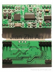 13.56MHz RFID card reader module with UART or IIC interface, ISO14443A