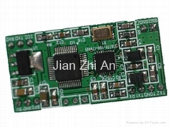 13.56MHz RFID card reader module with UART, IIC interface, ISO14443A, ISO14443B