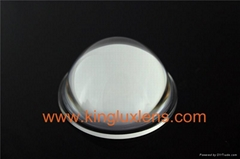 40/50/60 degree optical glass lens with fixtures for 10W-100W led high bay light
