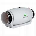 "4""/5""/6""/8""/10""/12"" bathroom ventilation inline duct fan (EC Motor supportable) 3"