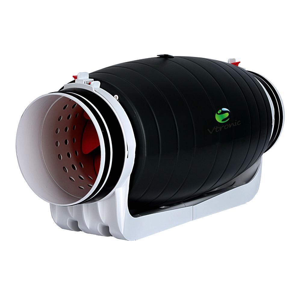 "4""/5""/6""/8""/10""/12"" bathroom ventilation inline duct fan (EC Motor supportable) 4"