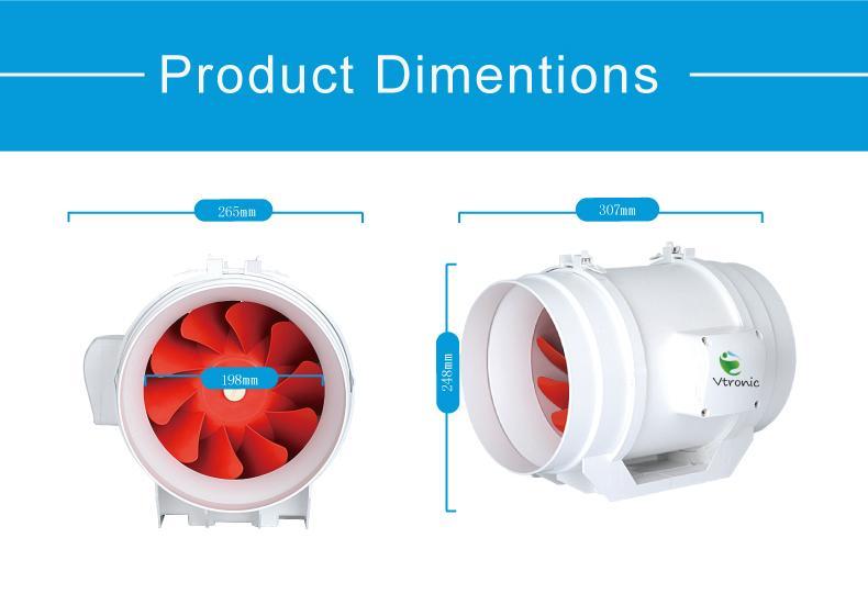 Backward curved industrial ac centrifugal fan 3