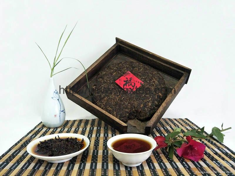 Chinese Premium post-fermented Pu Er tea 2
