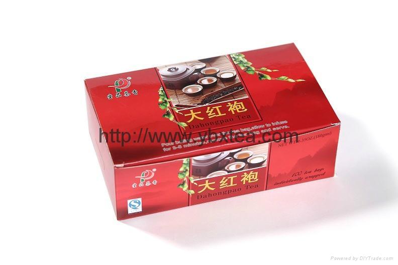 DaHongPao Oolong tea bag(100 Tea bags/box) 1