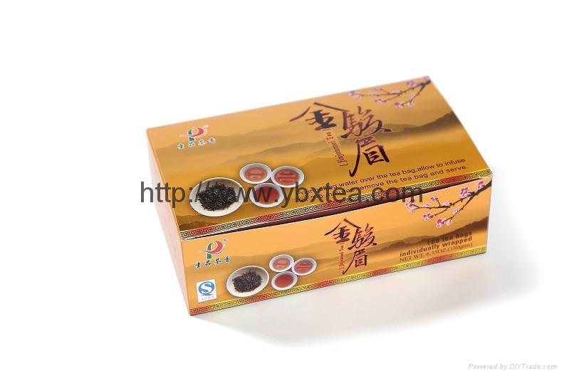 JinJunMei Black tea bag(100 Tea bags/box) 1