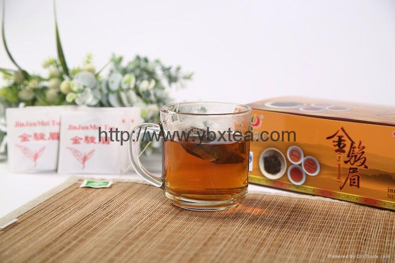 JinJunMei Black tea bag(100 Tea bags/box) 4