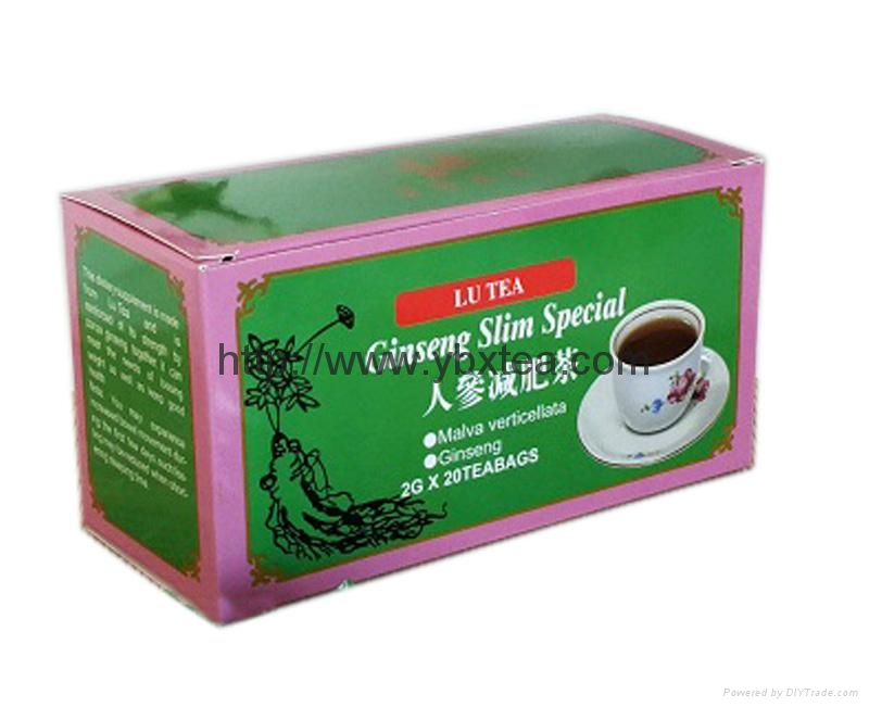 Chinese Ginseng Slim Special Herbal tea bag 1