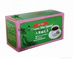 Chinese Ginseng Slim Special Herbal tea bag