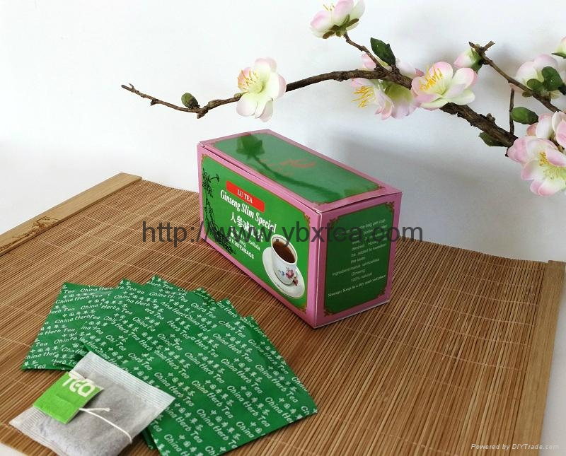 Chinese Ginseng Slim Special Herbal tea bag 4