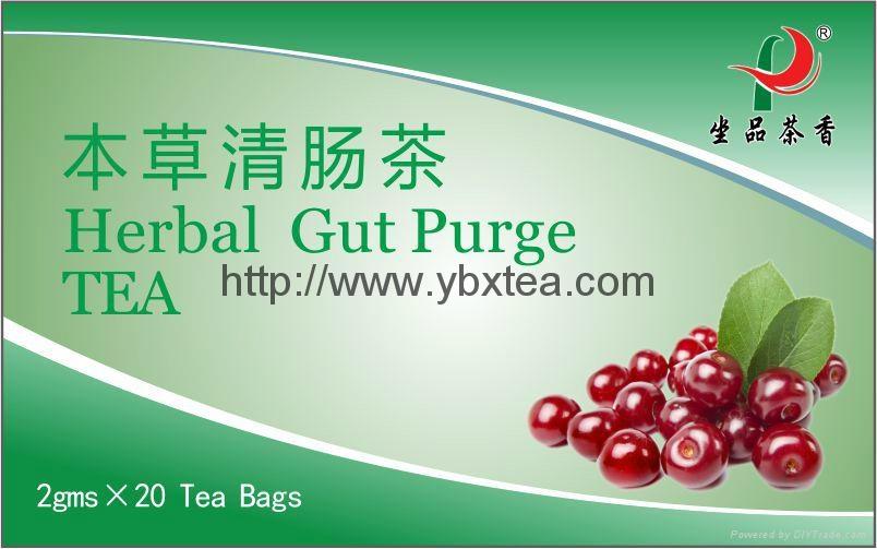 Chinese Herbal Gut Purge Tea bag 1